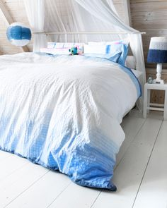 This Reminds Me Of My Friends Sarah Maybe I Ll Make For Her When She Gets Married Diy Dip Dye Duvet Cover Zelfmaakidee Beddengoed Kijk