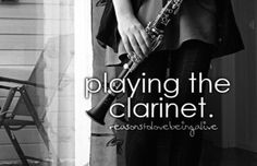 I play the clarinet, and I think that it's one of the most hard, but rewarding instruments.