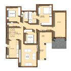 my house plan design My House Plans, House Floor Plans, Beautiful House Plans, Beautiful Homes, Home Design Plans, Plan Design, Architectural House Plans, Small House Design, Planets