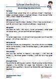 #Satzzeichentraining 2.Klasse #Italienisch Arbeitsanweisungen sind in den Lösungen in Italienisch übersetzt. Arbeitsblätter / Übungen / Aufgaben für den Rechtschreib- und #Deutschunterricht - Grundschule.  Es handelt sich um 76 Diktattexte, die auf 14 Arbeitsblätter verteilt sind. In den Klammern werden die fehlenden Satzzeichen eingesetzt.