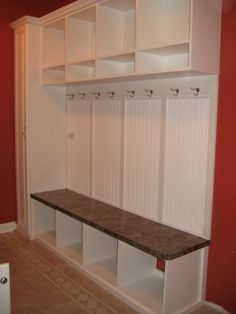 Mudroom/Laundry Room Perfect....side closet and everything!!
