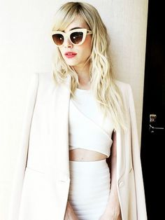 The Adult Way to Wear a Crop Top—Thank You, Emma Roberts