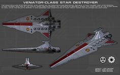 Venator Class Star Destroyer ortho [1][New] by unusualsuspex on DeviantArt