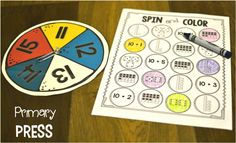 This math game is perfect for practicing number representations and kids love it!