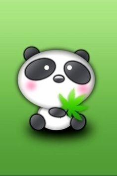 Dibujo oso panda