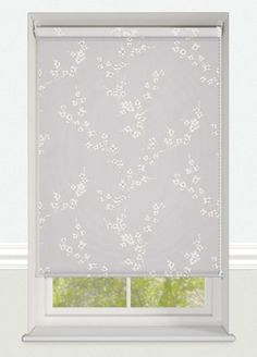 Ornamental Shadow Made To Measure Patterned Roller Blind