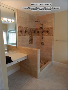Custom Shower - Johns Creek Ga 404-918-5955