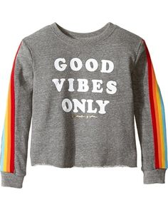 Huge Deal on Spiritual Gangster Kids - Good Vibes Only Tee ... Good Vibes Shirt, Spiritual Gangster, Good Vibes Only, Big Kids, Logo Branding, Maternity, Spirituality, Pullover, Costa Rica