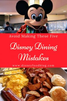 Disney World Dining   Avoid Making These Five BIG Disney Dining Mistakes