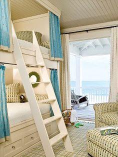 Bunk Beds at the Beach