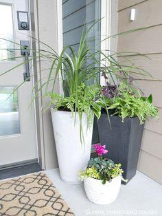porch planters ideas #HomeDecorIdeas