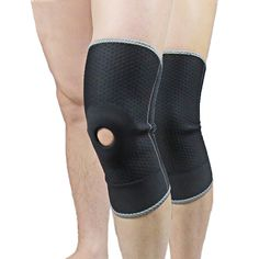 Professional Opening Hole Sport Leg Knee Patella Support Brace Kneepad Sport Safety Athletics Riding Knee Pads Support Protector