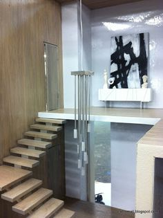 Call of the Small: Sneak Preview: Custom Designer Dollhouses  Contemporary Beach House Two, with interiordesign by Chris Barrett and the team of Ron Woodson and Jaime Rummerfield. Mattel Charity for UCLA Children's Hospital
