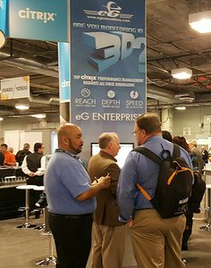 Having a great show at ‎HIMSS16‬! Come see us at the Citrix‬ -Ready Partner Pavilion