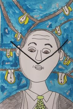 Fifth Grade Dali Drawing Projects, Art Projects, Kindergarten Art Activities, Kandinsky Art, 5th Grade Art, Kids Art Class, Spanish Art, Epic Art, Art Themes