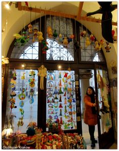 Krakow Poland, Folklore, Ferris Wheel, Fair Grounds, Polish, Frame, Home Decor, Picture Frame, Vitreous Enamel