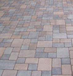 Antique Cobble Pavers in mixed brown and grey colours. I love the old world feel of them.