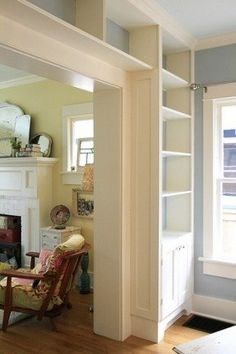 Interesting idea maybe for wall between dining & living rooms