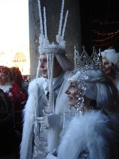 Wonderful Winter costumes
