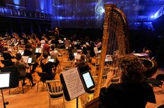 Brussels Philharmonic replaces sheet music with tablets (Credit: Samsung Belgium) Digital Sheet Music, Belgium, Ipads, Brussels, Concert, Fun Ideas, Gadgets, Photography, Samsung