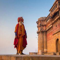 Sadhu in Varanasi. Photo credit: Travel Babbo