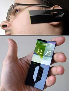 EAR CELL PHONE CONCEPT MOBILE      more new concept gadgets on-http://po.st/NvEWJ4