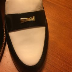 "Kate Spade beautiful black and white flats Kate Spade black and white ""petrolona"" lux tuxedo flats. Fab with just anything and anytime. New with box, box top thrown out by accident. kate spade Shoes"