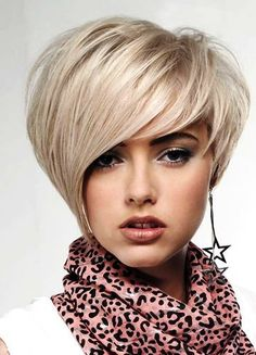 Short Asymmetrical Haircut 2012