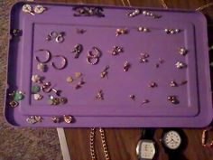 Jewelry Lot  Vintage Junk Drawer Watches Bracelets Rings Earrings Brooches