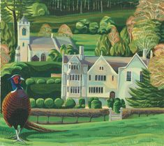 Vibrant, stylised wildlife paintings in acrylic. Feature wildlife in their habitats and landscapes of the UK. Beautiful Places In England, Wildlife Paintings, Art Uk, Historic Homes, Habitats, Art Gallery, Tours, Fine Art, Pheasant