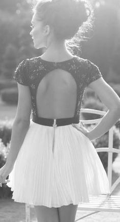 A little short for me but really like the back and the lace top.