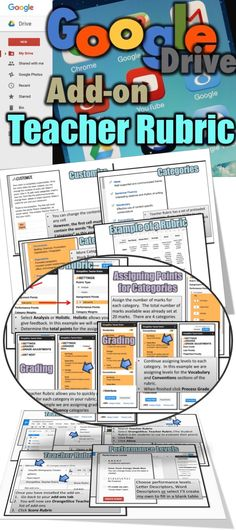This resource shows teachers how to create, complete and send rubrics to students using an add-on for Google Docs called Teacher Rubrics.
