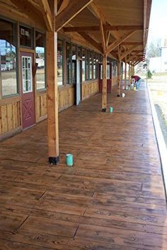 1000 Ideas About Wood Stamped Concrete On Pinterest
