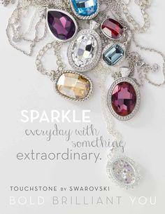 Touchstone Crystal by Swarovski!! www.mytouchstonecrystal.com/daynagirton