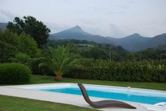 Villa Olhette, Ascain, Aquitaine, France. Character home in a peaceful location near the Basque coast's famous beaches..