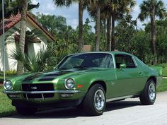 A second-generation Camaro (1971 SS model shown)