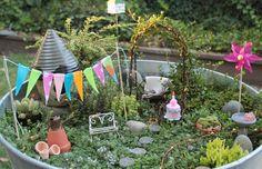 Mini garden party