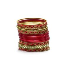 Liquidationprice.com - Bangle Bracelet Sets of 24. Slant Cut Red, $3.00 (http://www.liquidationprice.com/bangle-bracelet-sets-of-24-slant-cut-red/)