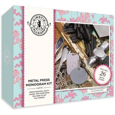 Kirstie Allsopp Metal Press Monogram Kit | Hobbycraft