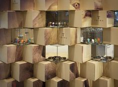 Cool Pop-up Store Made with Carton Boxes Good.