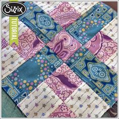 Sizzix Quilting | Fabric Friday (Watch and Win): Country Roads Block
