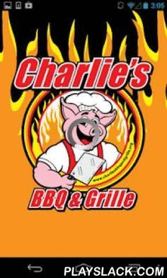Charlie's BBQ & Grille  Android App - playslack.com ,  Order from your mobile device at Charlie's BBQ & Grille!At Charlie's, we are all about serving you the best in hand-pulled pork barbecue, beef brisket, barbecued chicken, sausages, barbecued Pork Ribs, and Southern fried catfish. Each is pit-cooked and seasoned on premises, and all our vegetables, sauces, rubs, chicken salad, hushpuppies, and desserts are home-cooked and/or homemade from time-honored, family recipes!Simply come into…