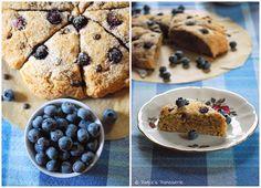 Patce's Patisserie: Blaubeer-Kokos-Scones [Ein Sommermorgenfrühstück... okay, sagen wir: Septembermorgenfrühstück, hihi]