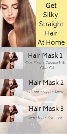 diy hair straightening hair masks that will make your hair silky straight hair haircare diy howto hairmask beauty tips 863424559786660177 Olive Oil Hair Mask, Egg Hair Mask, Egg For Hair, Hair Masks, Hair Mask For Growth, Hair Growth Tips, Long Curly Hair, Curly Hair Styles, Thick Hair