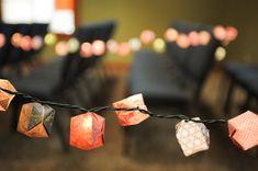 Origami Balloon Lights  Set of 35 by SpicyMandaRoll on Etsy