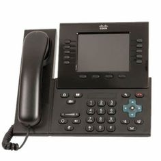 Cisco CP-8961-C-K9-RF Unified IP Phone 8961 Standard - VoIP phone - SIP - charcoal gray - refurbished