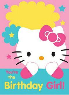 Hello Kitty birthday ♡