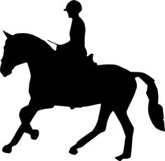 Free Image on Pixabay - Silhouette, Horse Racing Photo Images, My Images, Free Images, Courses Hippiques, Classic Equine, Free Horses, Silhouette Images, Horse Crafts, Make A Donation