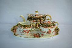 Serve it up using this Edwardian Royal Crown Derby Breakfast Set #breakfast #edwardian #teatime