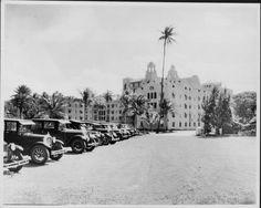 Hotels - Royal Hawaiian - 1927 Pink Palace, Hawaiian, Street View, Hotels, Diamond, Diamonds